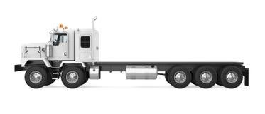 Naczepa ciężarówka odizolowywająca ilustracji