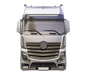 Naczepa ciężarówka odizolowywająca Zdjęcie Royalty Free