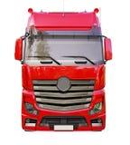 Naczepa ciężarówka odizolowywająca Obraz Royalty Free
