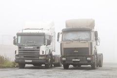 Naczepa ciężarówki Fotografia Stock