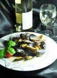naczyń mussels zdjęcia stock