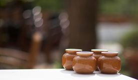 naczynia ceramiczne fotografia stock