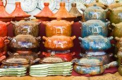 naczynia ceramiczne Zdjęcia Royalty Free