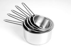 Naczynia dla kucharstwa odizolowywającego na biel Obraz Royalty Free