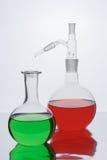 naczynia laboratoryjne Fotografia Stock