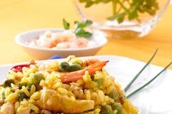 naczynia paella spanish typowy obrazy royalty free