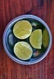Naczynia pomarańcze zdjęcie stock