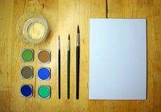 Naczynia rysować Obraz Stock
