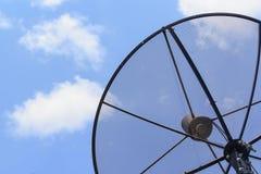 naczynia satelity niebo Obrazy Royalty Free