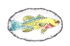 Naczynie dla ryba Zdjęcia Stock