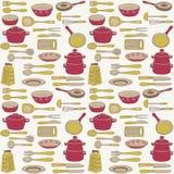 naczynie ilustracyjni kuchenni artykuły Zdjęcia Stock