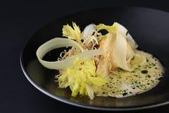 Naczynie robić od mięsa i warzyw z kumberlandem z bliska Fotografia Stock