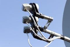 naczynie satelitarny tv Obrazy Stock