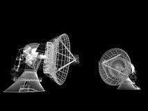 naczynie satelity Ilustracja Wektor