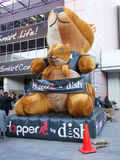 Naczynie skakacza maskotka przy CES 2013 Zdjęcie Stock