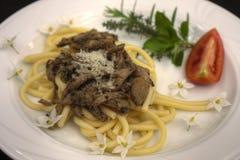 naczynie spaghetti Zdjęcie Stock