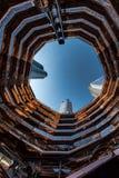 Naczynie w Hudson jardach, Nowy Jork, NY, usa obrazy royalty free