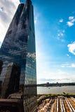 Naczynie w Hudson jardach, Nowy Jork, NY, usa obraz stock
