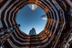 Naczynie w Hudson jardach, Nowy Jork, NY, usa zdjęcie royalty free