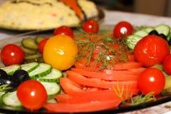 Naczynie warzywa Obrazy Stock