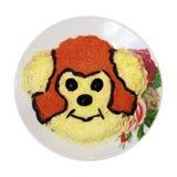 Naczynie z małpą odizolowywającą Zdjęcia Stock