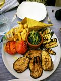 Naczynie z warzywami Zdjęcie Royalty Free