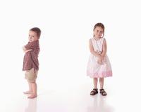 Brat i siostra Zdjęcie Stock