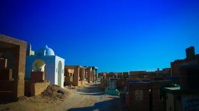 Nadżaf Salaam aka muzułmański cmentarz, wielki w worl Zdjęcia Stock