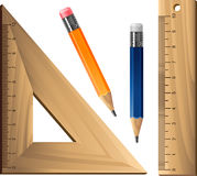 Nad biel geometryczny set ilustracja wektor