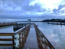 Nad Boardwalk zdjęcie royalty free