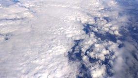 Nad Bufiaste chmury zbiory wideo