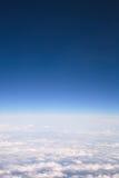 nad chmura widok Obraz Royalty Free