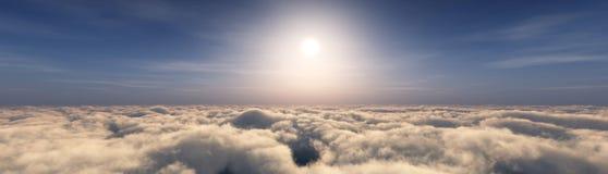 Nad chmurami Zdjęcie Stock