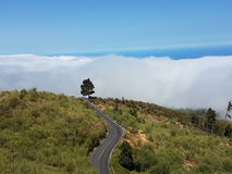 Nad chmurami Zdjęcie Royalty Free