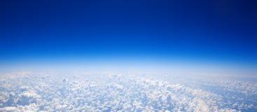 nad chmury Zdjęcie Stock
