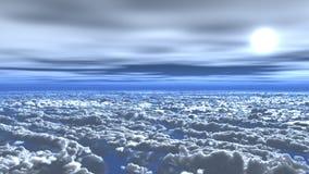 nad chmury Obraz Stock
