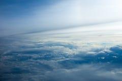 Nad chmury zdjęcie royalty free