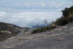 Nad chmury w Costa Rica obrazy royalty free