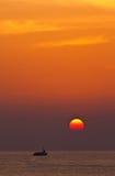 nad dennym wschód słońca Zdjęcie Stock