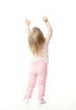nad dziewczynka jej mały seans coś Fotografia Royalty Free