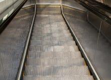 nad eskalator Zdjęcie Royalty Free