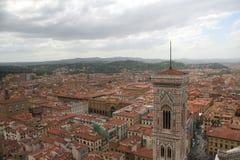 nad Florence Italy Zdjęcia Stock