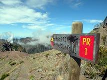nad góry singpost Fotografia Royalty Free