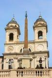 Nad hiszpańszczyzny Kroczy kościół Santissima Trinita dei obraz royalty free