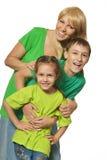 nad ja target1148_0_ biel dzieciak rodzinna szczęśliwa matka obrazy stock