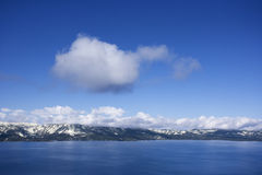 nad jeziorem tahoe Nevada zdjęcie stock