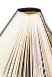 nad książki otwarty segmentu widok Obraz Royalty Free