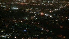 Nad los angeles nocy miasta timelapse zbiory wideo
