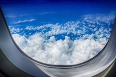Nad 12 000 m Zdjęcie Royalty Free