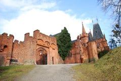 Nad Moravici van Hradec royalty-vrije stock foto